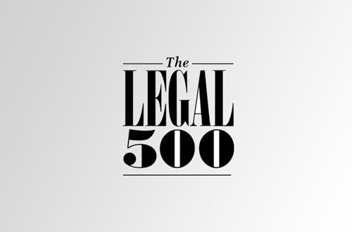 Tunca Attorney Partnership has been Listed in LEGAL 500 Turkey 2021 EMEA!